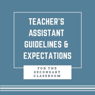 Teacher's Assistant Guidelines