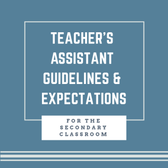 Teacher's Assistant Guidelines